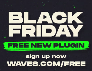 Waves is releasing a brand new plugin on Black Friday and you can get it for FREE | MusicRadar