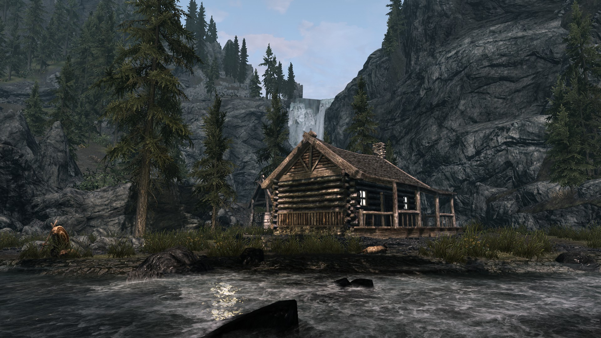 the best skyrim mods: ranger cabins and corners of skyrim