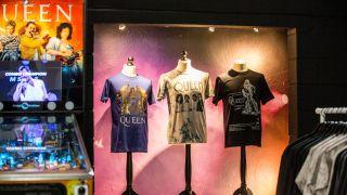 Queen pop up shop