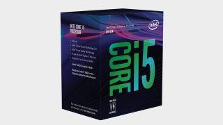 Intel Core i5-8400 CPU box