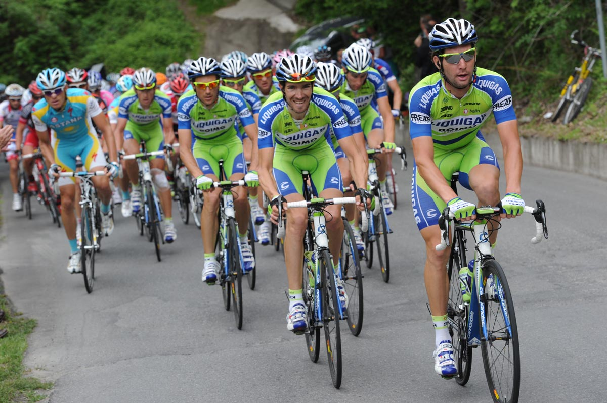 Liquigas Tour team: Nibali out, Pellizotti maybe