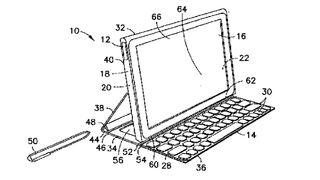 Patent details kickstand Nokia tablet