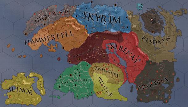 Elder Kings mod brings The Elder Scrolls to Crusader Kings 2 | PC Gamer