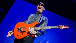 Joe Satriani recounts his music-making life in Strange Beautiful Music