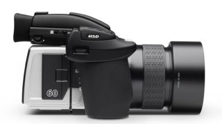 Hasselblad H5D medium format camera breaks cover