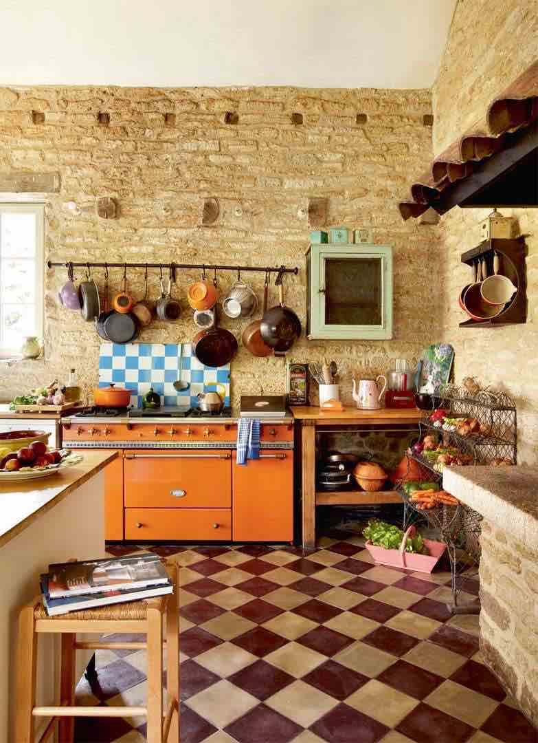 Freestanding Kitchens 17 Flexible Ways To Create A Rustic Look Real Homes