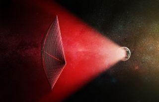 Alien Light Sails Could Explain Fast Radio Bursts