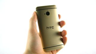 We get our hands on the Gold HTC One you can actually buy
