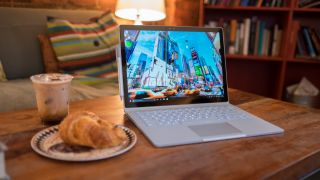 Microsoft Surface Book with Windows 10