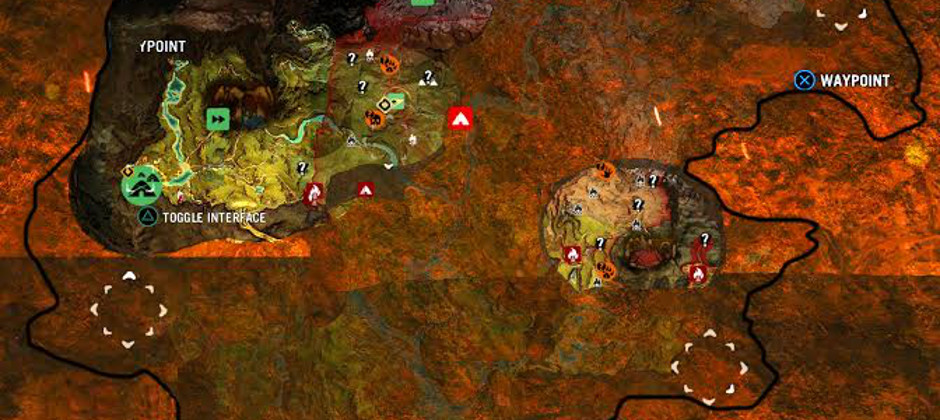 See Just How Big Far Cry Primal S Map Really Is Gamesradar