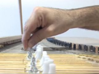 Each of the Fluid Piano's notes can be individually tuned.