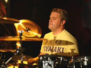 Craig Blundell was part of the record breaking team of drummers