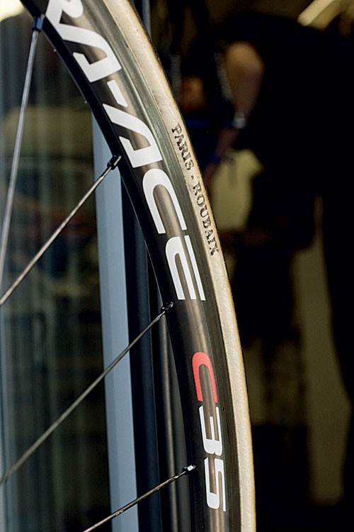 Sky wheel, Paris-Roubaix 2011 tech