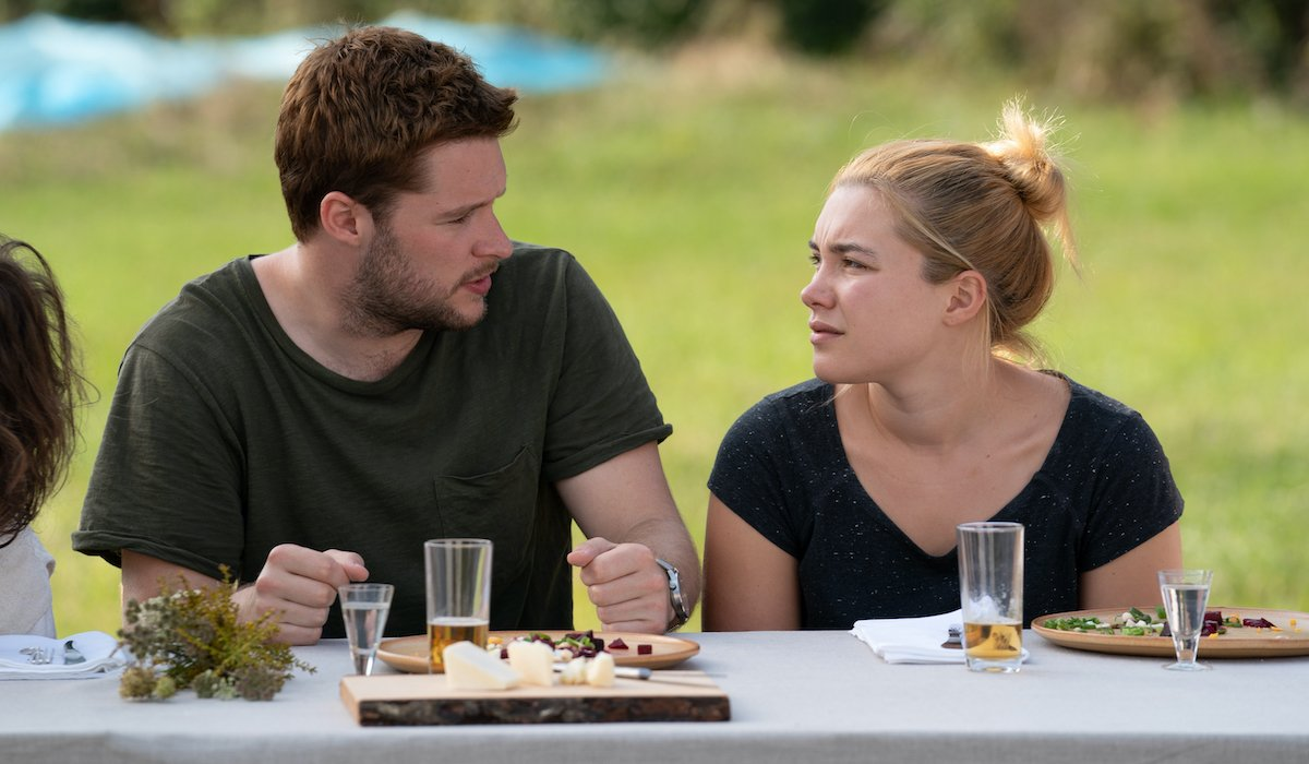 Jack Reynor and Florence Pugh in Midsommar