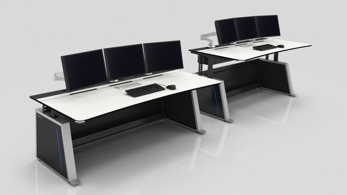 Legrand   AV Offering New LundHalsey Control Room Consoles