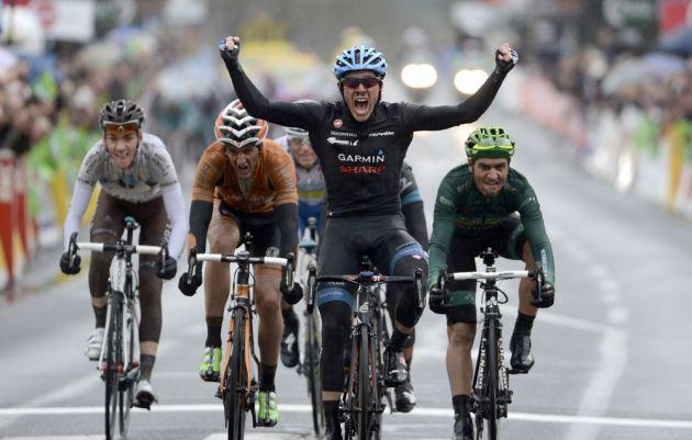 Andrew Talansky wins, Paris-Nice 2013, stage three