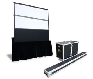 Elite Screens Debuts Electric Free-Standing Projection Screen