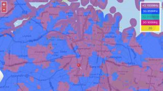 Vodafone's 4G Sydney coverage map