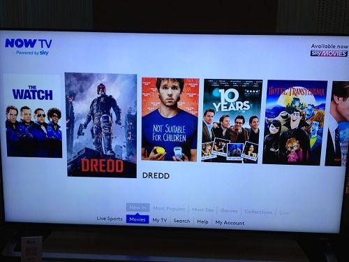 Sky Go App Smart Tv