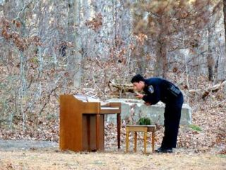 If a piano plays by itself in the woods when there's no one else around does it really make a sound?
