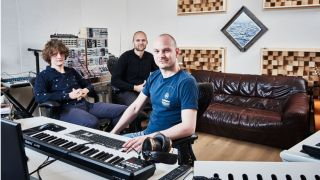 Noisia (left to right): Thijs de Vlieger, Nik Roos and Martijn van Sonderen