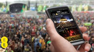 How 4G is taking the stage at Glastonbury 2013
