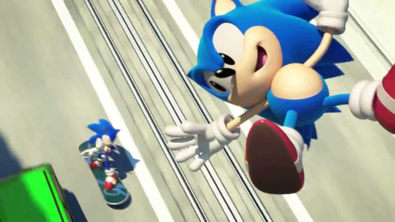 New Sonic Generations 'City Escape' trailer is incredibly