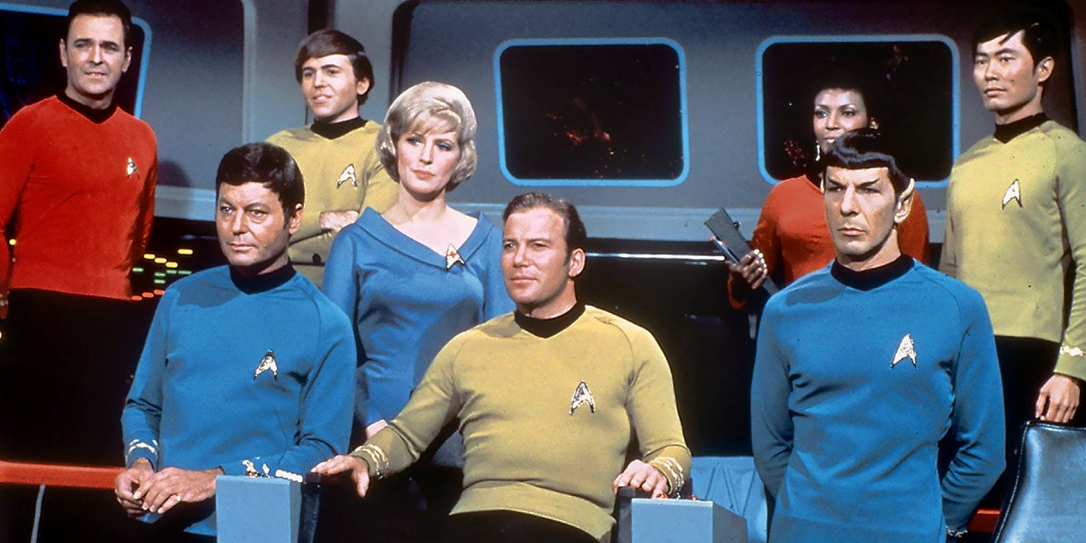 The cast of Star Trek: The Original Series