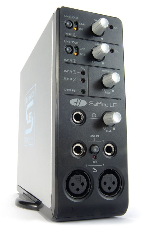 The Saffire LE is ideal for portable use.