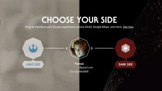 google launches star wars site urges you to choose a side techradar