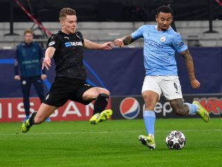 Borussia Monchengladbach v Manchester City – UEFA Champions League – Round of 16 – First Leg – Puskas Arena