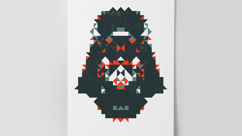 Star Wars-inspired portraits put a new spin on geometric patterns