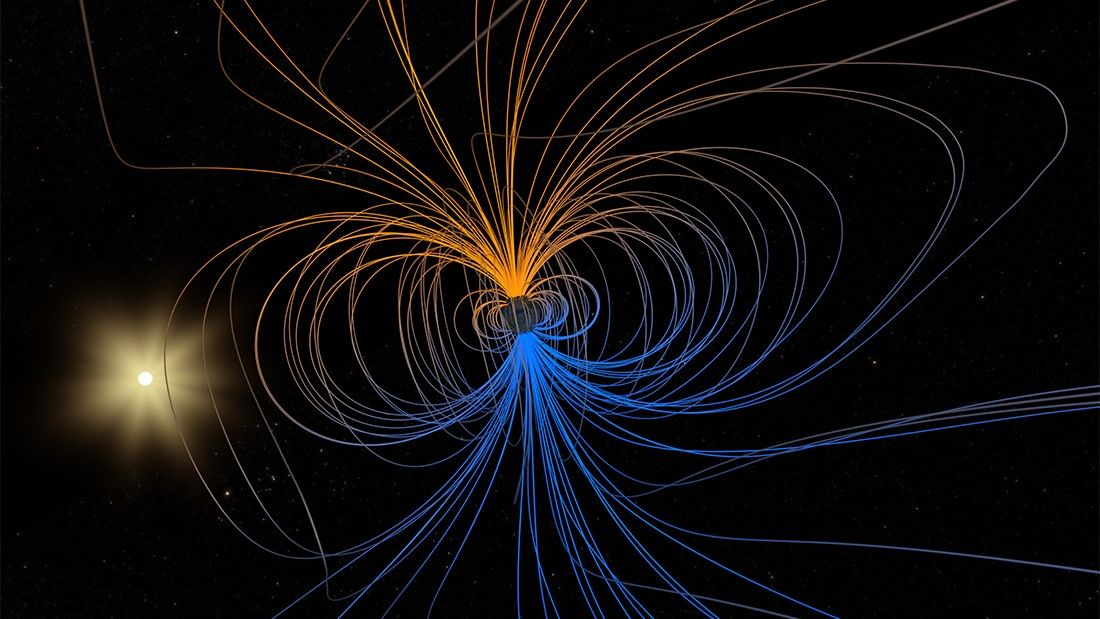 NASA watches as weird 'dent' in Earth's magnetic field splits in two