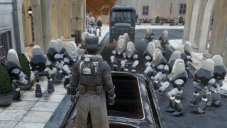 Fallout 76 glitch spawns a gazillion robot butlers and