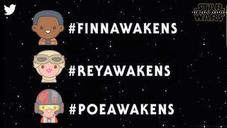 Star Wars Twitter emojis