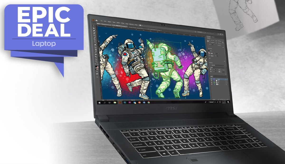 MSI Creator 15 Pro laptop sees $371 price cut