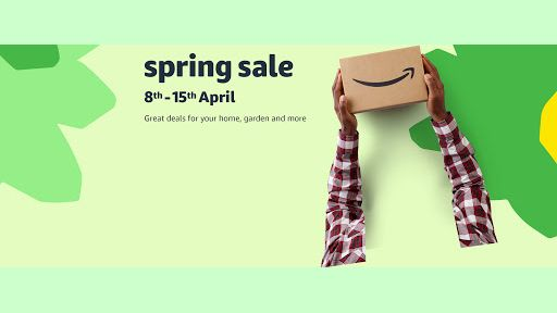 amazon spring sale imagery from amazon