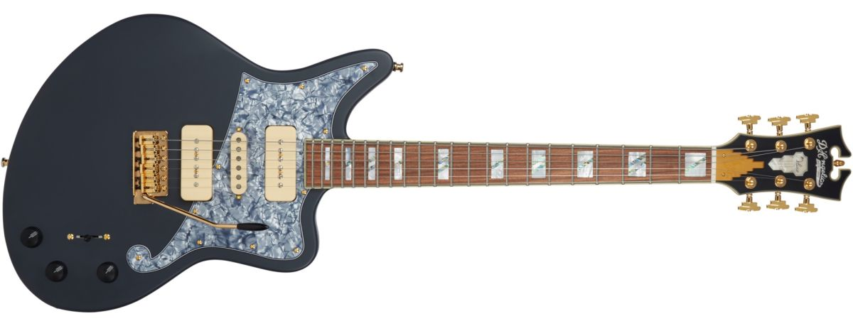 D'Angelico Announces New Deluxe Bob Weir Bedford | Guitarworld on