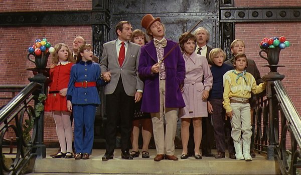 Willy Wonka and the Chocolate Factory Gene Wilder factory reveal