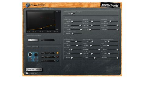 Downloadable for free from the TC website, the software will really open up your TonePrint pedals' potential