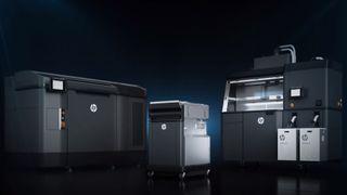 HP Jet Fusion 3D printer