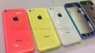 Budget iPhone blue model