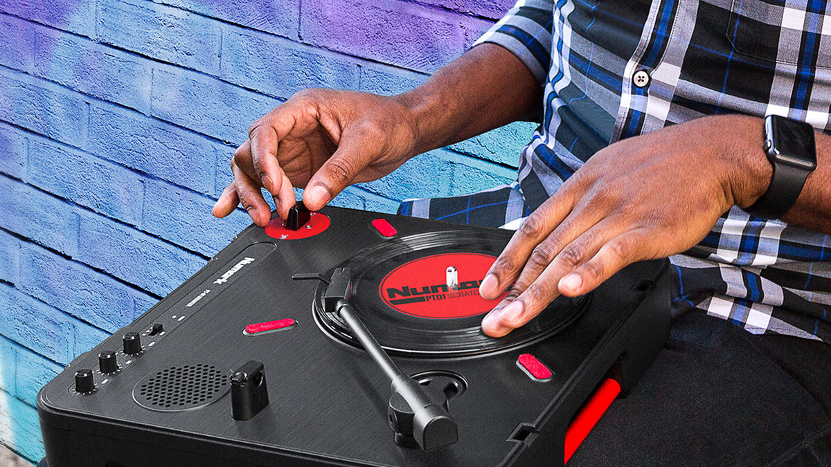 Scratch anywhere you like with Numark's new portable