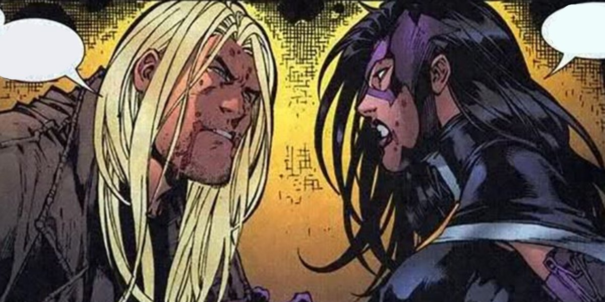 Savant and Huntress from Birds of Prey