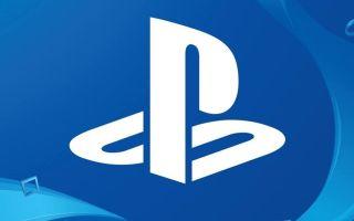 The Playstation logo.