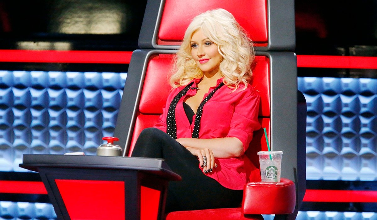 Christina Aguilera The Voice NBC