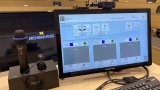 Panasonic Digital Wireless Microphone system at the University of Michigan Stephen M. Ross School of Business