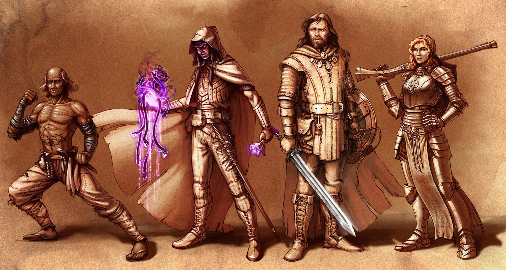 Pillars of Eternity tabletop RPG and card game in the works