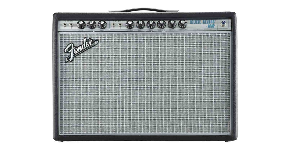Fender 68 Custom Deluxe Reverb Review Musicradar Tube Amp Power Transformer 8211 Guitar Amplifier Analysis