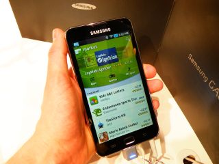 Hands on with the Samsung Galaxy S Wi-Fi 5.0